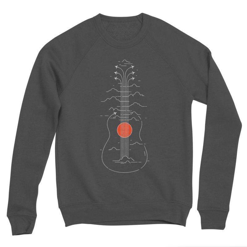 air show (dark) Men's Sweatshirt by muag's Artist Shop