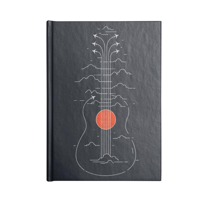 air show (dark) Accessories Blank Journal Notebook by muag's Artist Shop