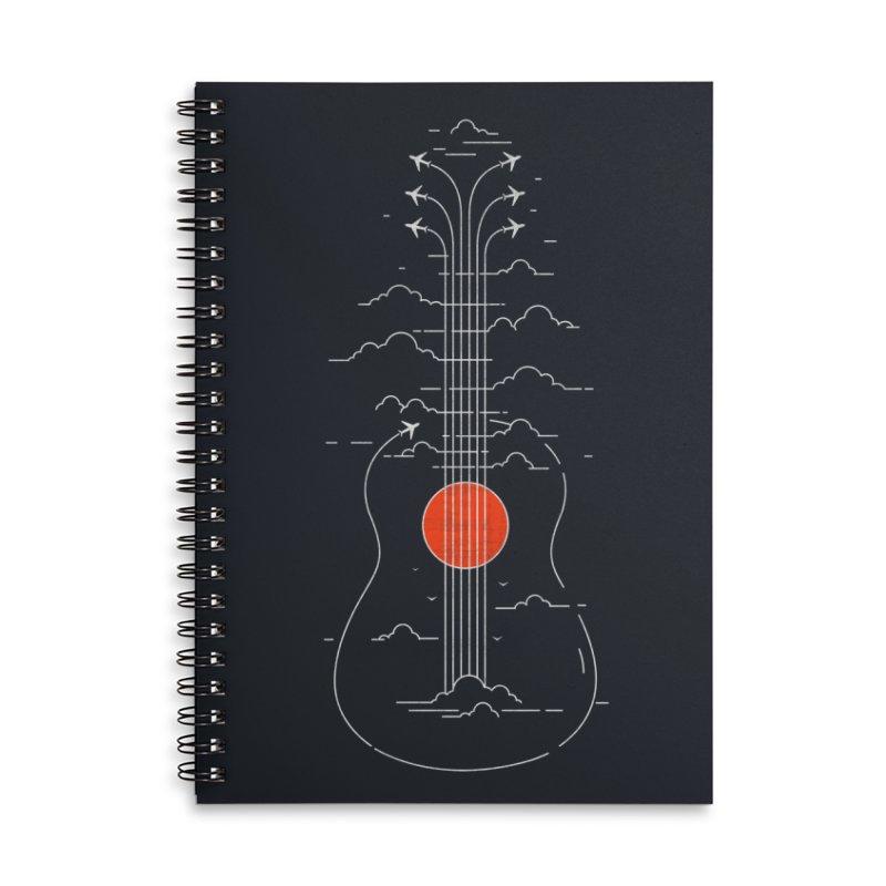 air show (dark) Accessories Notebook by muag's Artist Shop