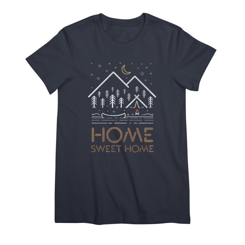 my sweet home Women's Premium T-Shirt by muag's Artist Shop