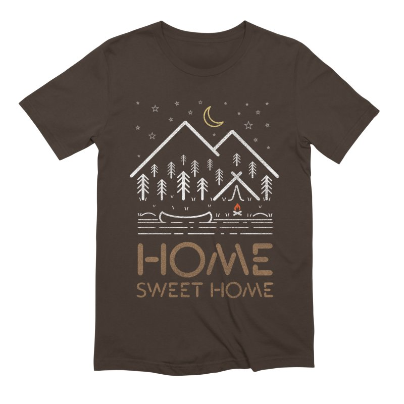 my sweet home Men's Extra Soft T-Shirt by muag's Artist Shop