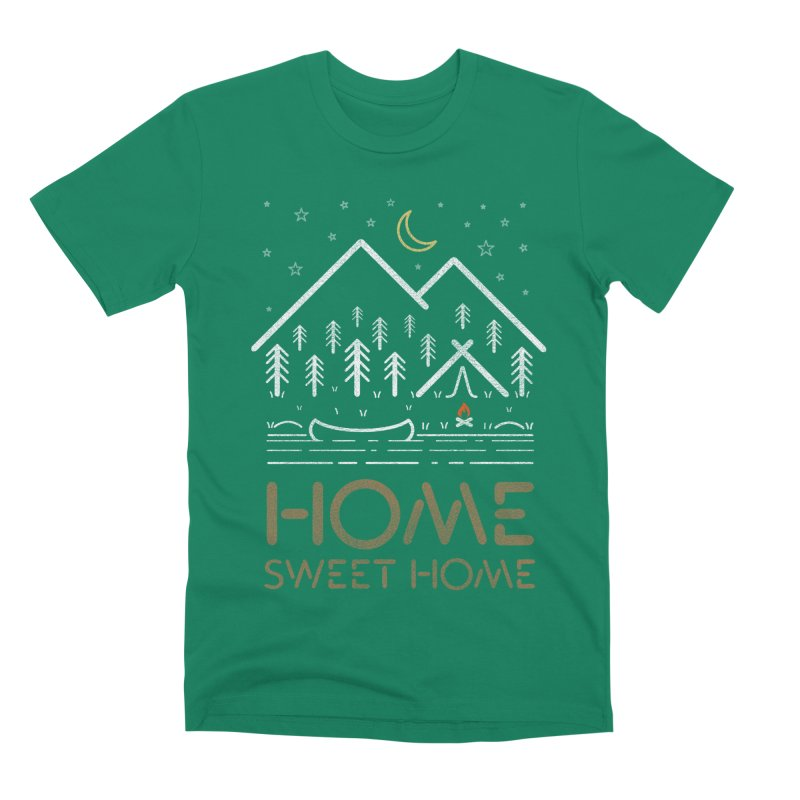 my sweet home Men's Premium T-Shirt by muag's Artist Shop