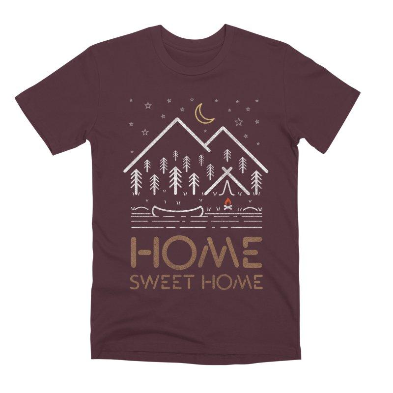 my sweet home Men's Premium T-Shirt by muag's Artist Shop