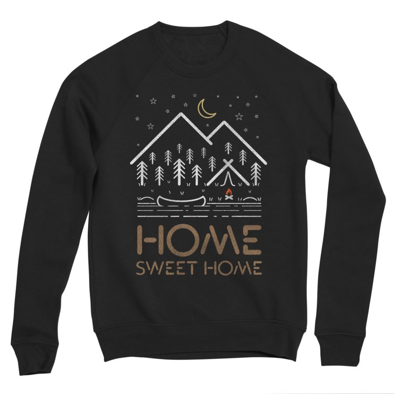 my sweet home Men's Sponge Fleece Sweatshirt by muag's Artist Shop