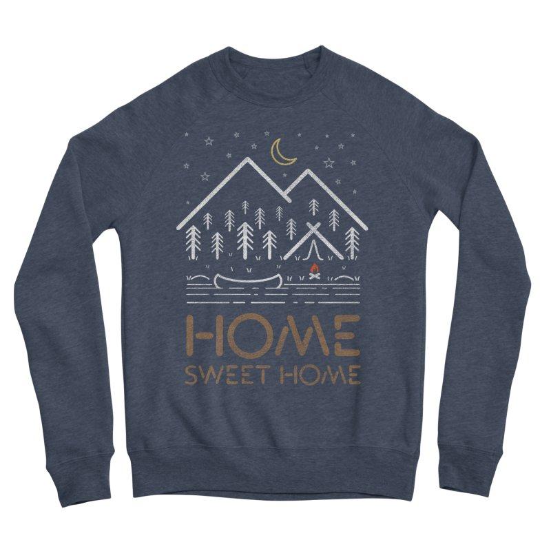 my sweet home Women's Sponge Fleece Sweatshirt by muag's Artist Shop