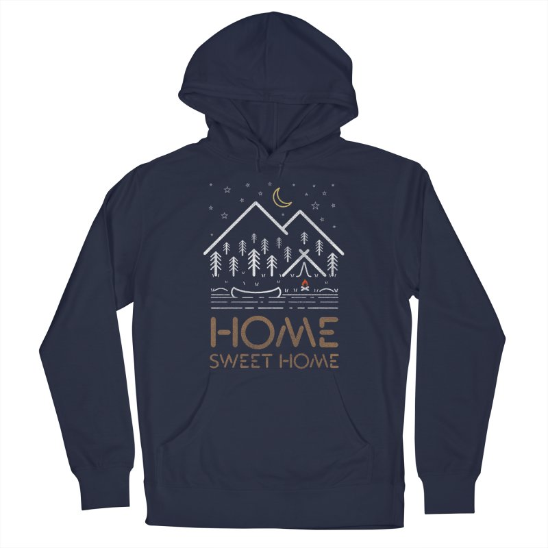 my sweet home Men's Pullover Hoody by muag's Artist Shop