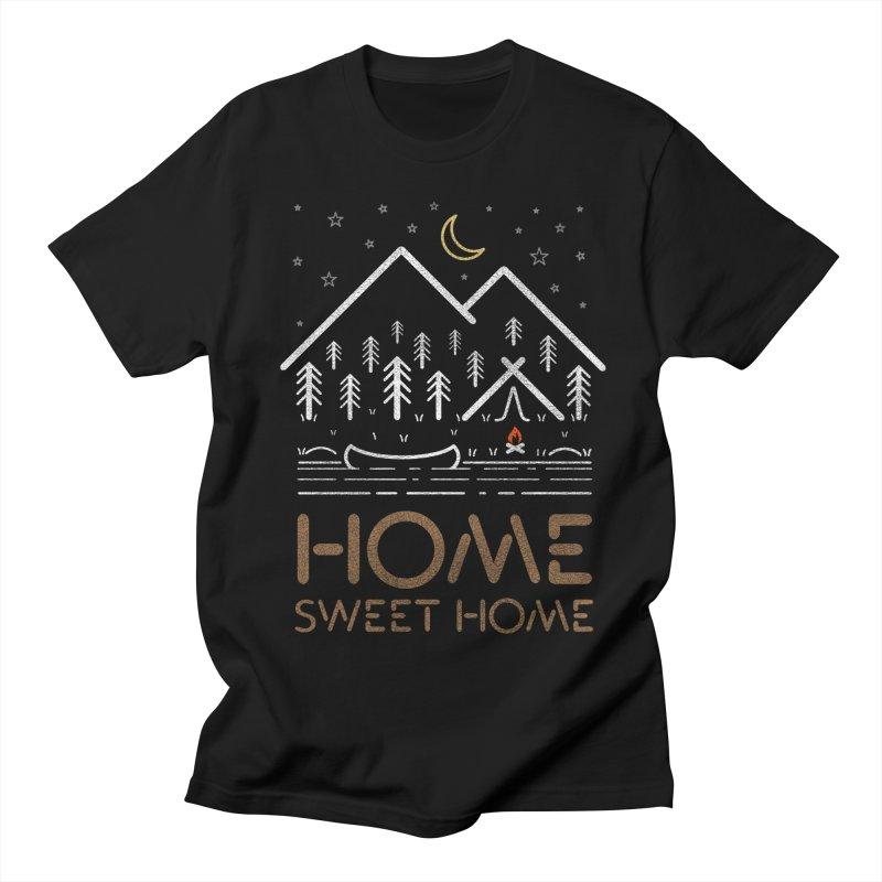 my sweet home Men's Regular T-Shirt by muag's Artist Shop