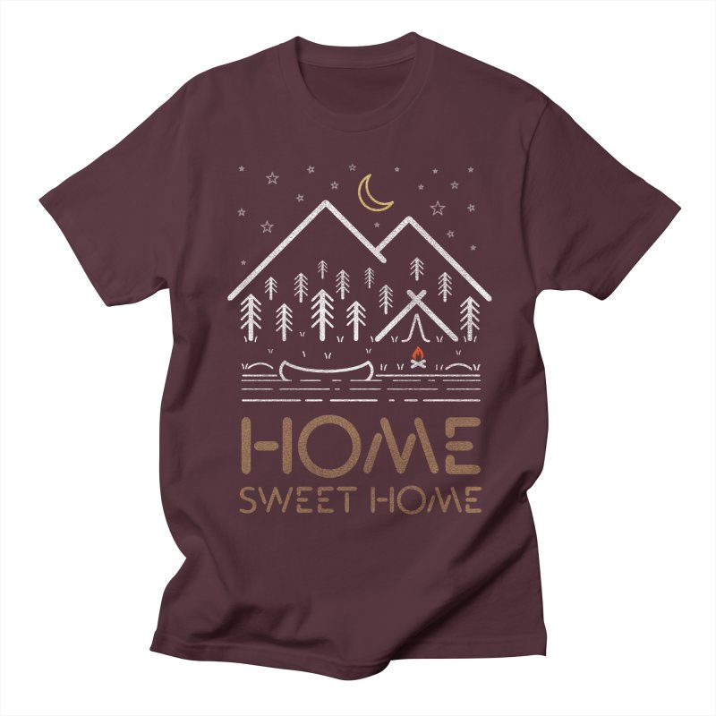 my sweet home Men's Regular T-Shirt by muag's Artist Shop