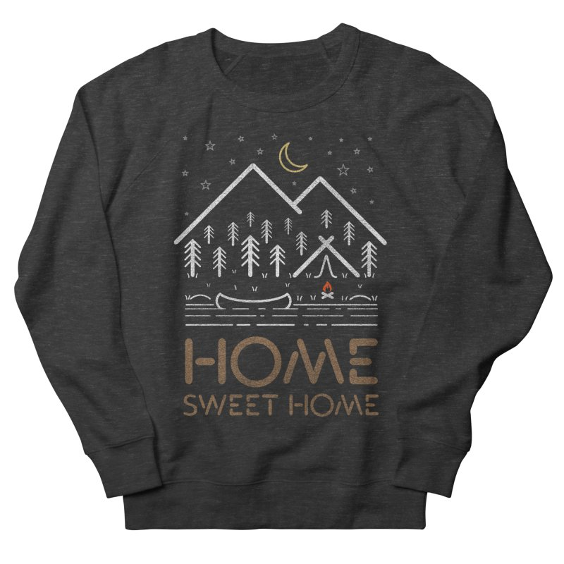 my sweet home Women's French Terry Sweatshirt by muag's Artist Shop