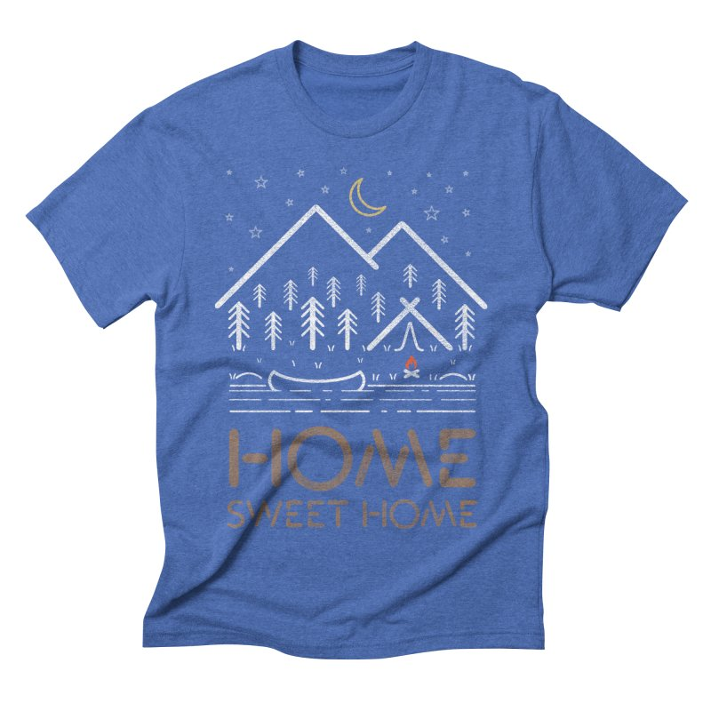 my sweet home Men's T-Shirt by muag's Artist Shop