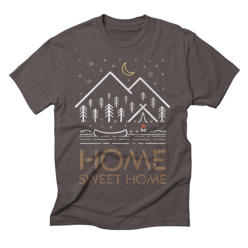 my sweet home Men's Triblend T-Shirt by muag's Artist Shop