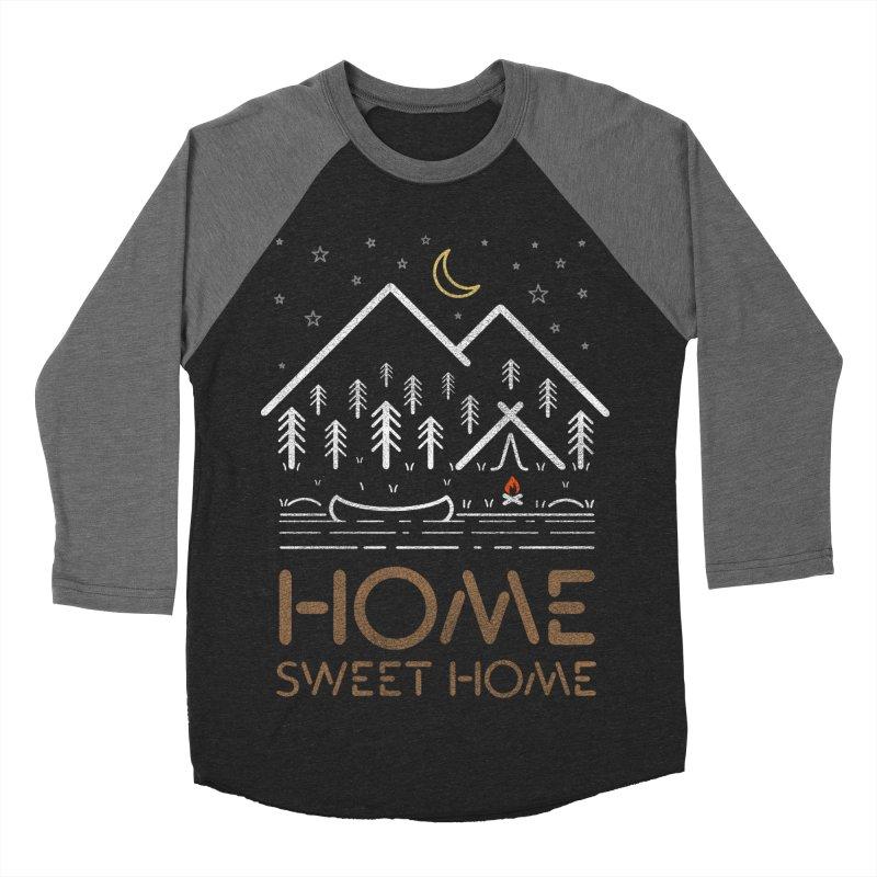 my sweet home Men's Baseball Triblend Longsleeve T-Shirt by muag's Artist Shop