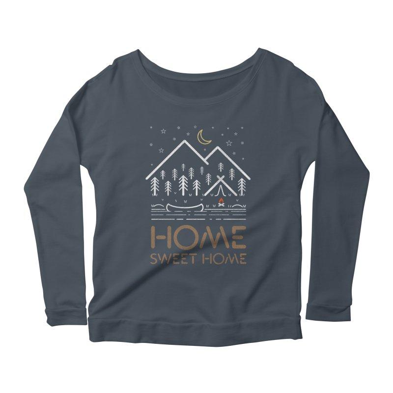my sweet home Women's Longsleeve T-Shirt by muag's Artist Shop