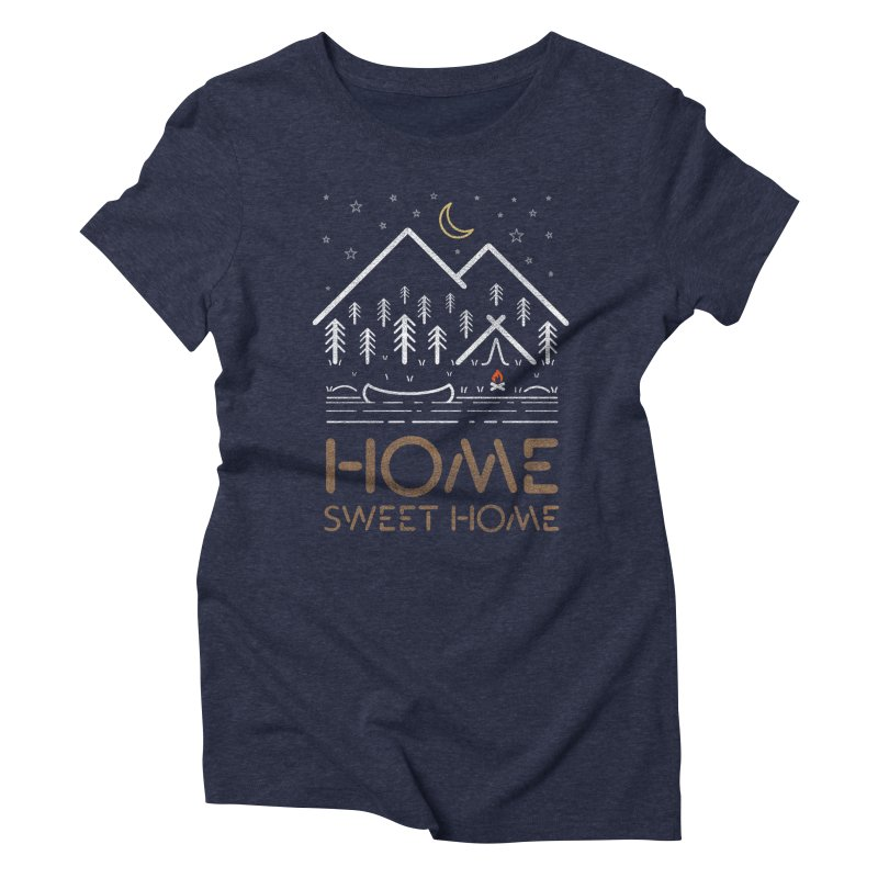 my sweet home Women's T-Shirt by muag's Artist Shop
