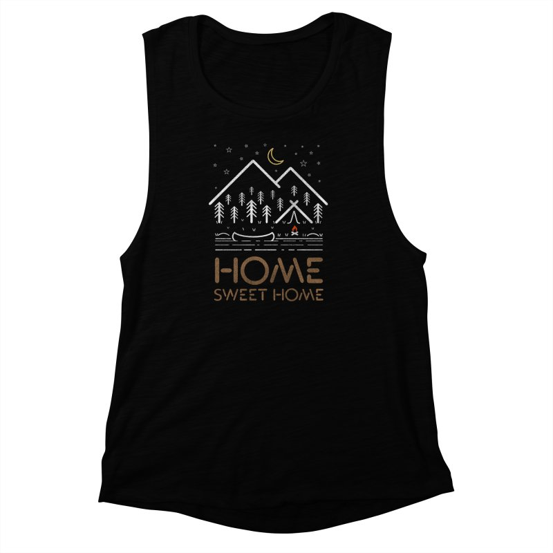 my sweet home Women's Muscle Tank by muag's Artist Shop