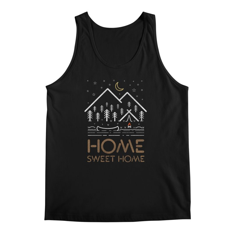 my sweet home Men's Regular Tank by muag's Artist Shop