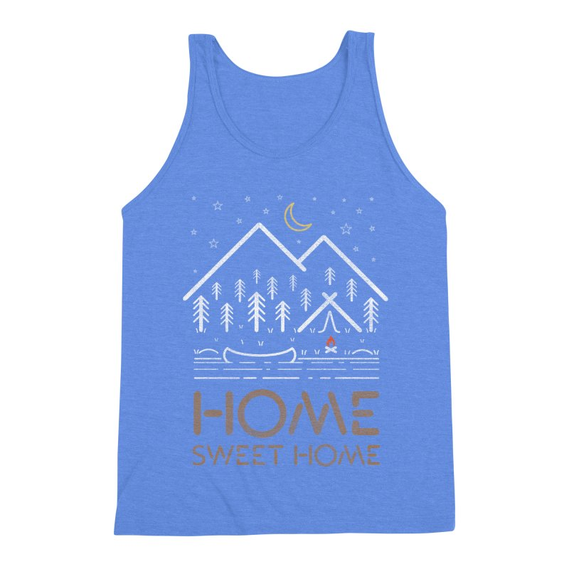 my sweet home Men's Triblend Tank by muag's Artist Shop