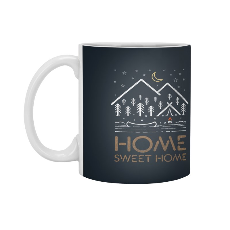 my sweet home Accessories Mug by muag's Artist Shop