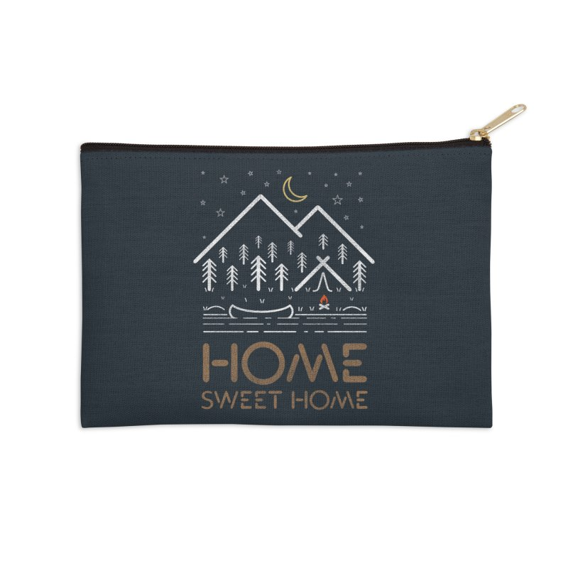 my sweet home Accessories Zip Pouch by muag's Artist Shop