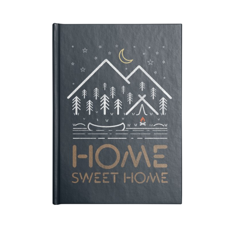 my sweet home Accessories Blank Journal Notebook by muag's Artist Shop