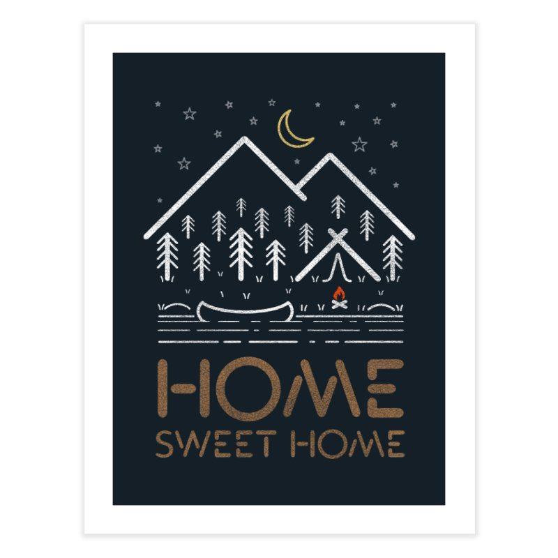 my sweet home Home Fine Art Print by muag's Artist Shop
