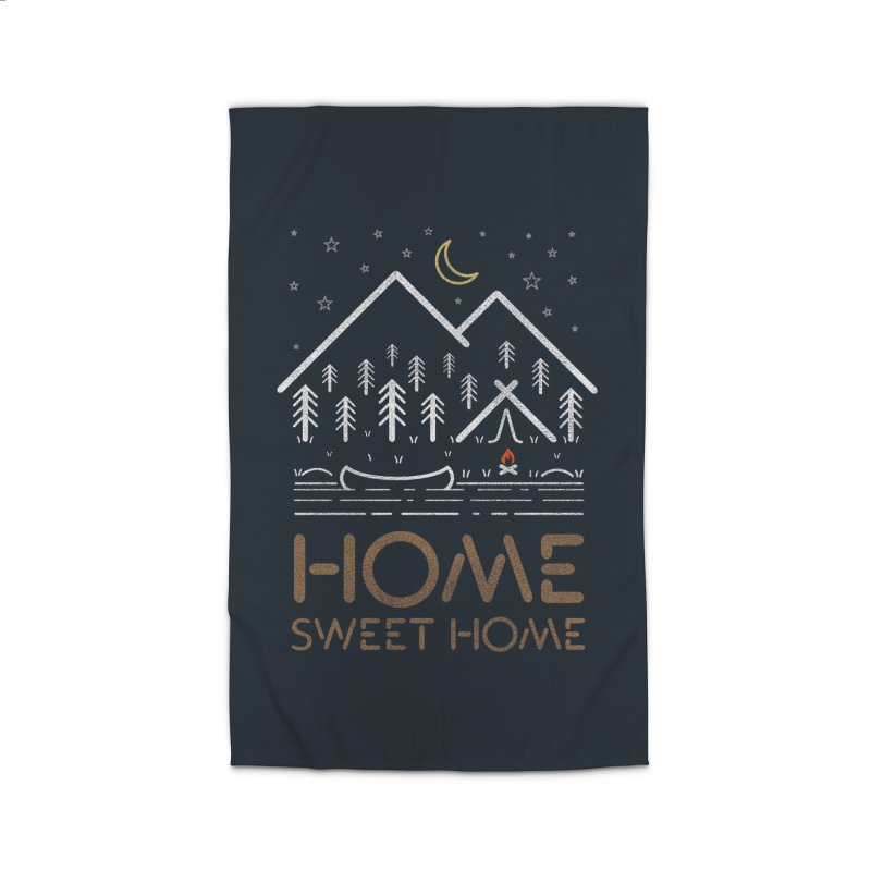 my sweet home Home Rug by muag's Artist Shop