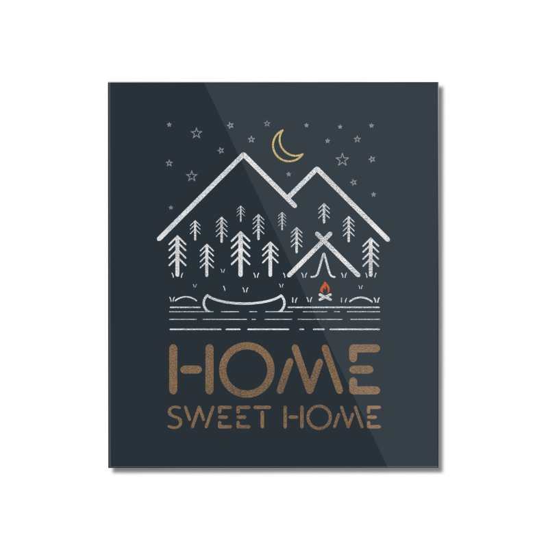 my sweet home Home Mounted Acrylic Print by muag's Artist Shop
