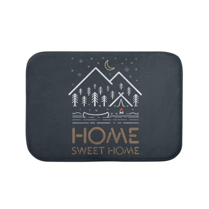 my sweet home Home Bath Mat by muag's Artist Shop