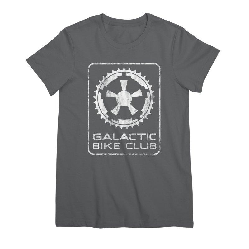 galactic bike club Women's Premium T-Shirt by muag's Artist Shop