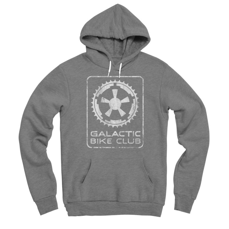 galactic bike club Women's Pullover Hoody by muag's Artist Shop