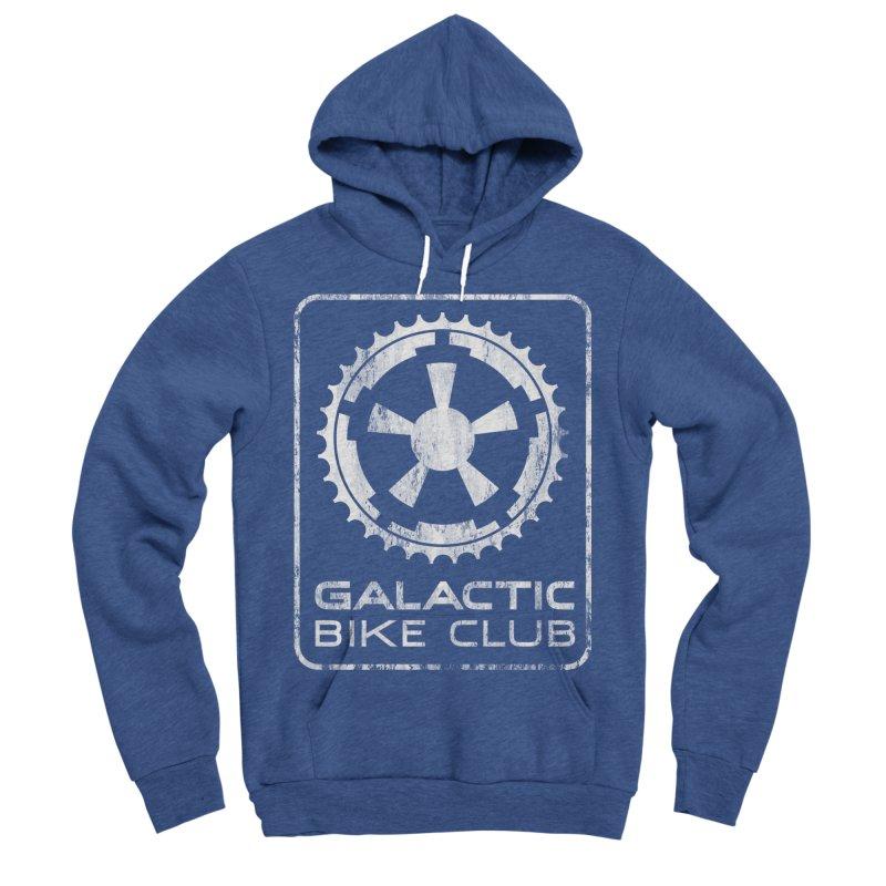 galactic bike club Women's Sponge Fleece Pullover Hoody by muag's Artist Shop