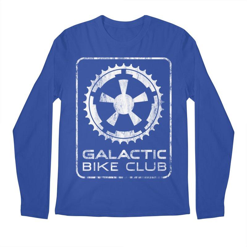galactic bike club Men's Regular Longsleeve T-Shirt by muag's Artist Shop