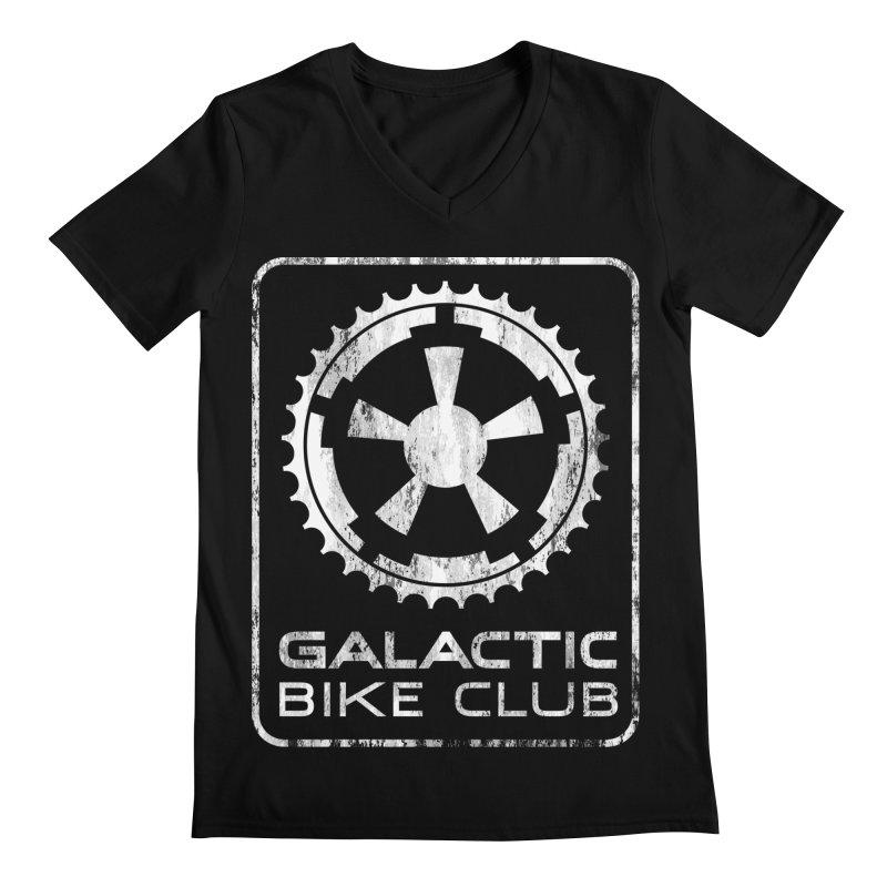galactic bike club Men's V-Neck by muag's Artist Shop