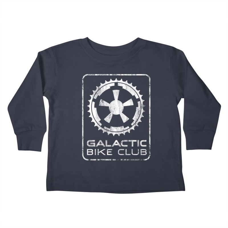 galactic bike club Kids Toddler Longsleeve T-Shirt by muag's Artist Shop