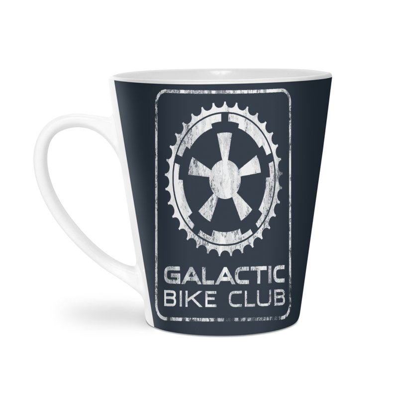 galactic bike club Accessories Latte Mug by muag's Artist Shop