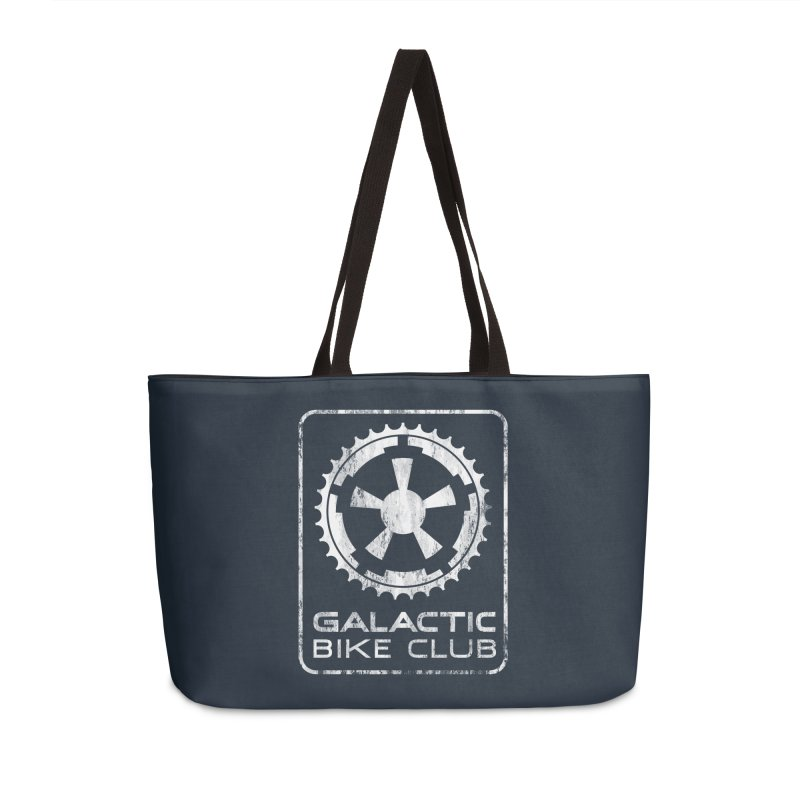 galactic bike club Accessories Weekender Bag Bag by muag's Artist Shop