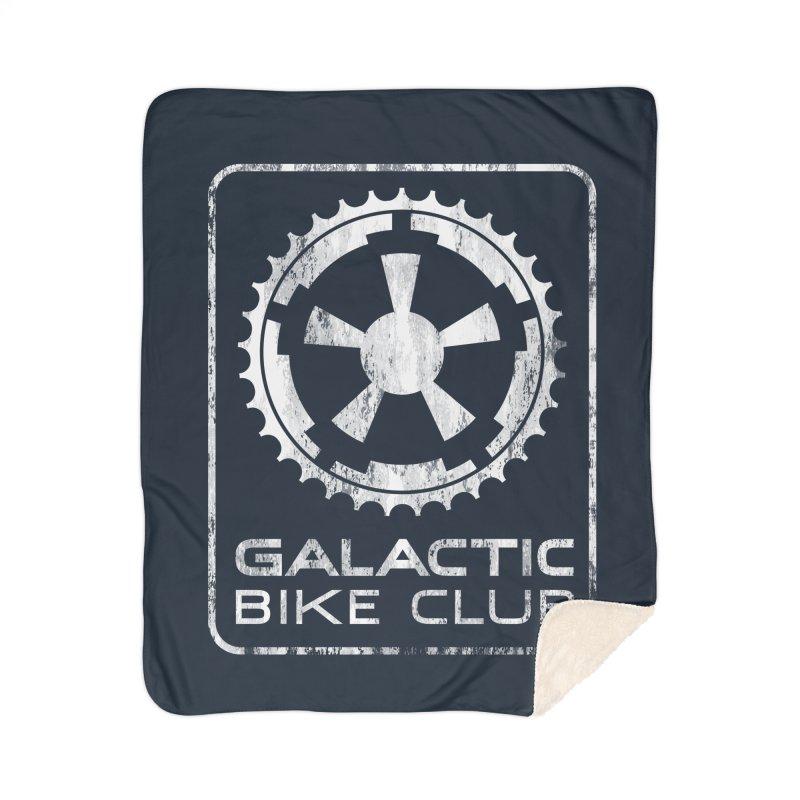 galactic bike club Home Sherpa Blanket Blanket by muag's Artist Shop