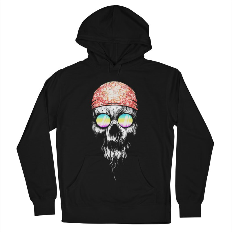 old skooll Women's French Terry Pullover Hoody by muag's Artist Shop