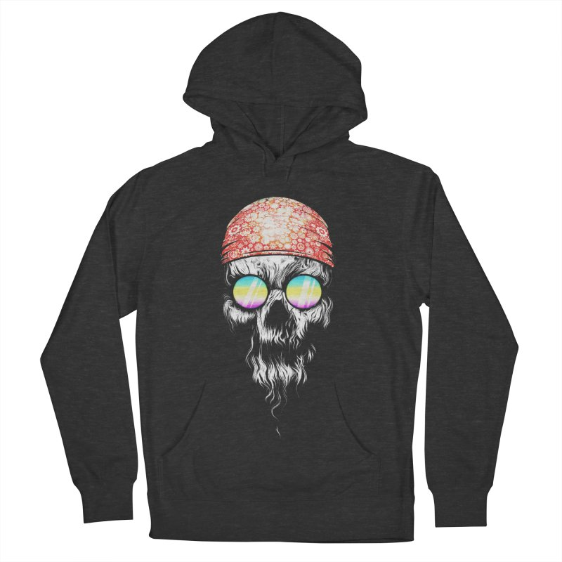 old skooll Men's French Terry Pullover Hoody by muag's Artist Shop