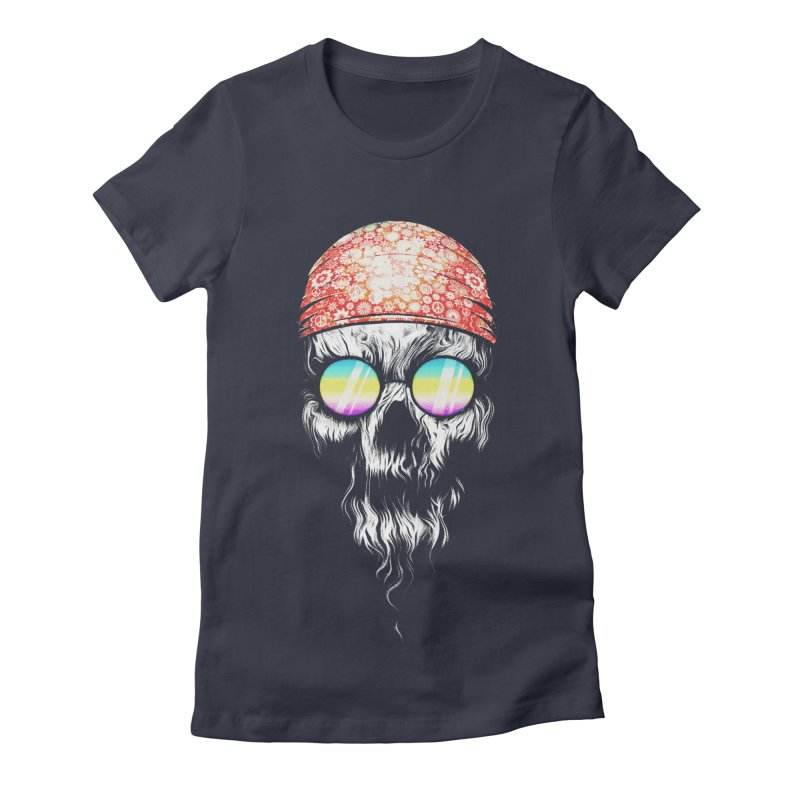 old skooll Women's Fitted T-Shirt by muag's Artist Shop