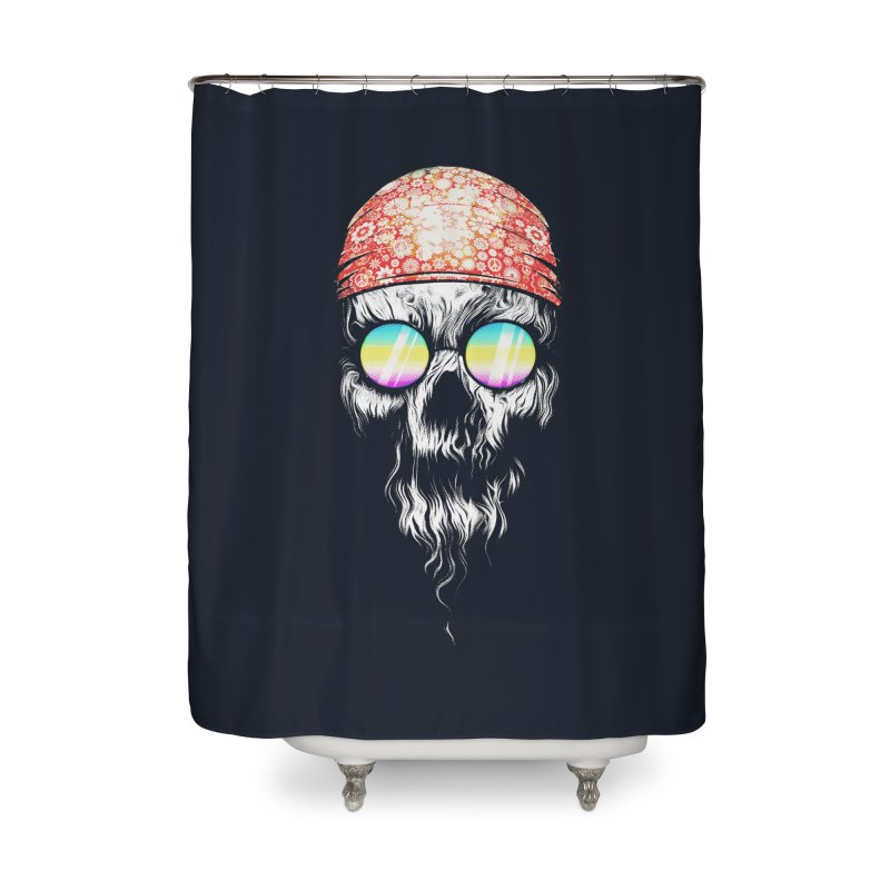 old skooll Home Shower Curtain by muag's Artist Shop
