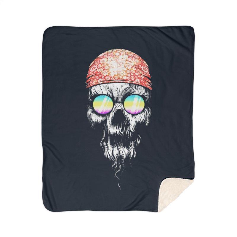old skooll Home Sherpa Blanket Blanket by muag's Artist Shop