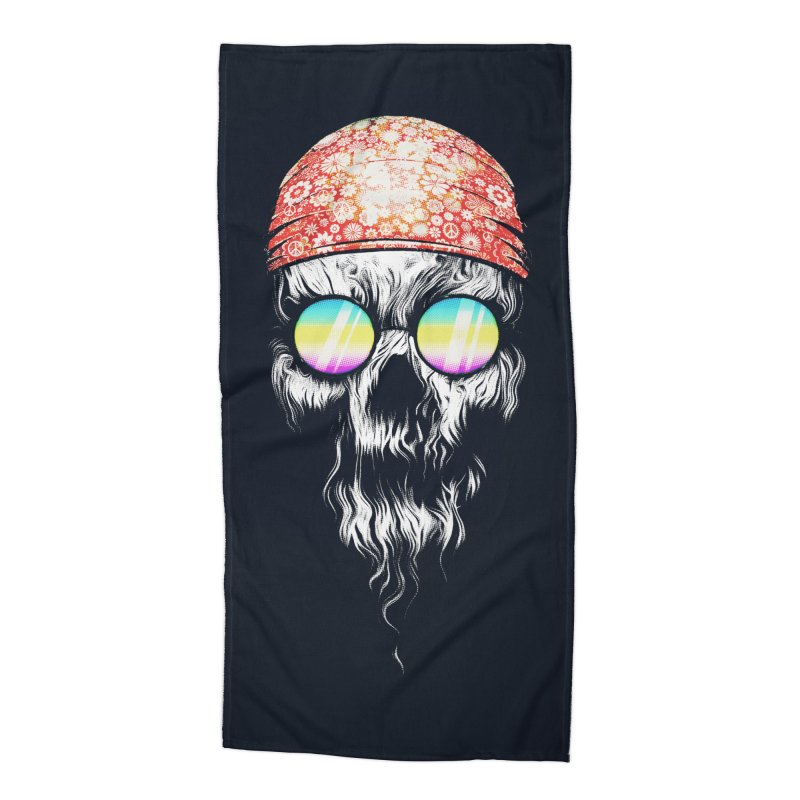 old skooll Accessories Beach Towel by muag's Artist Shop