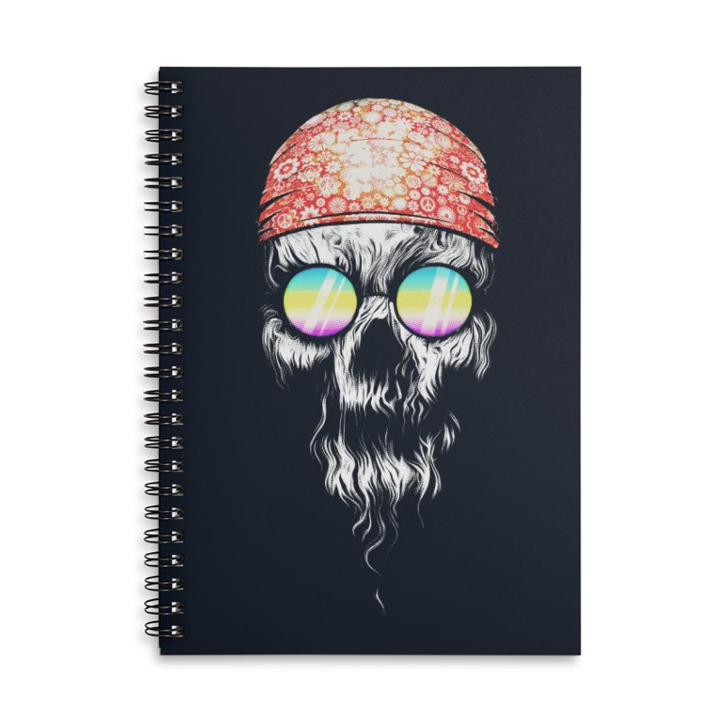 old skooll Accessories Lined Spiral Notebook by muag's Artist Shop