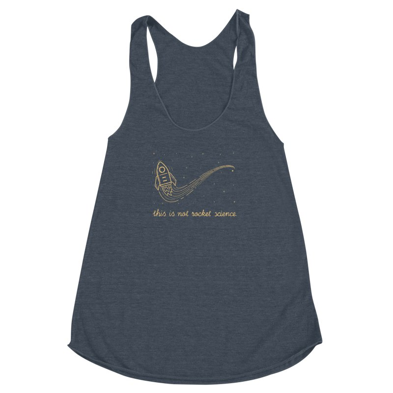 tribute to magritte Women's Racerback Triblend Tank by muag's Artist Shop
