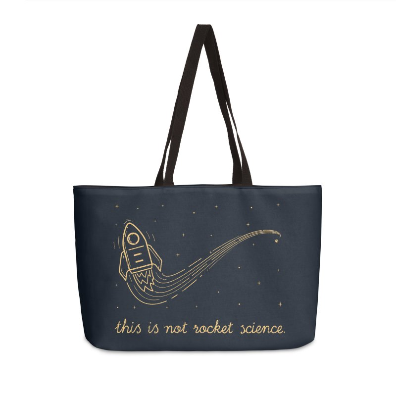 tribute to magritte Accessories Weekender Bag Bag by muag's Artist Shop