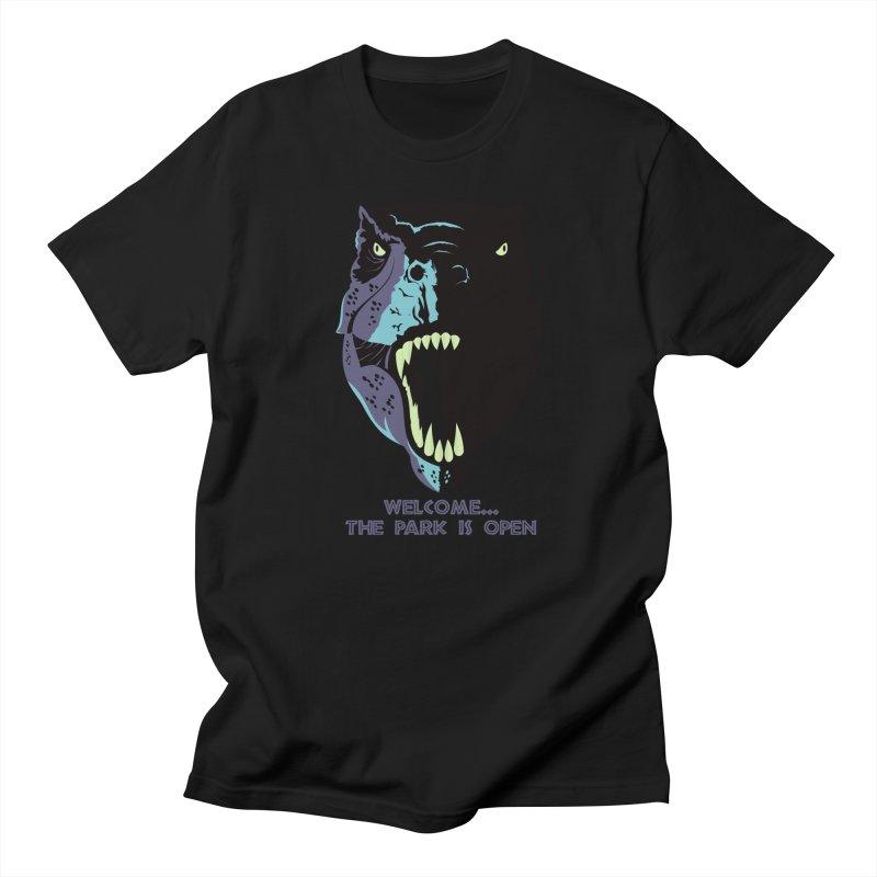 Jurassic Park Men's T-Shirt by Muchmoji Shop