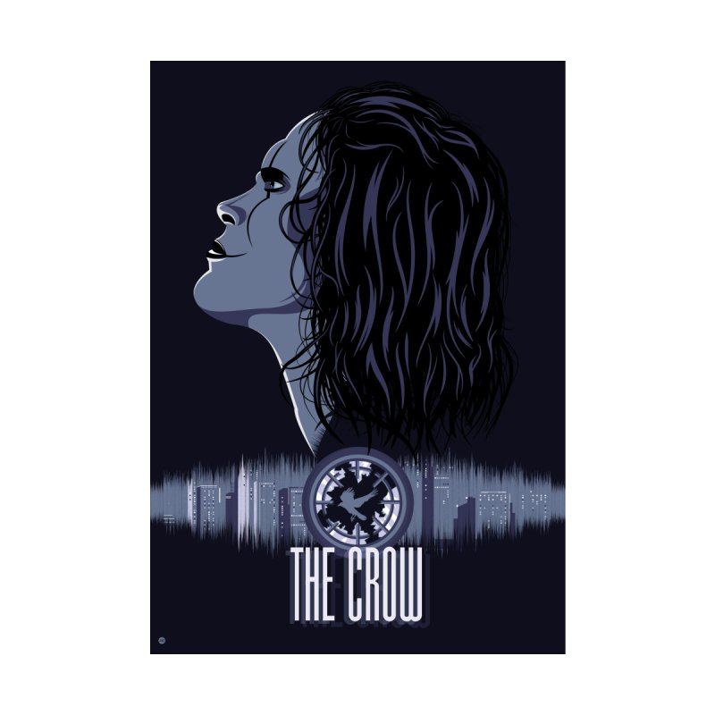 The Crow Home Fine Art Print by Muchmoji Shop