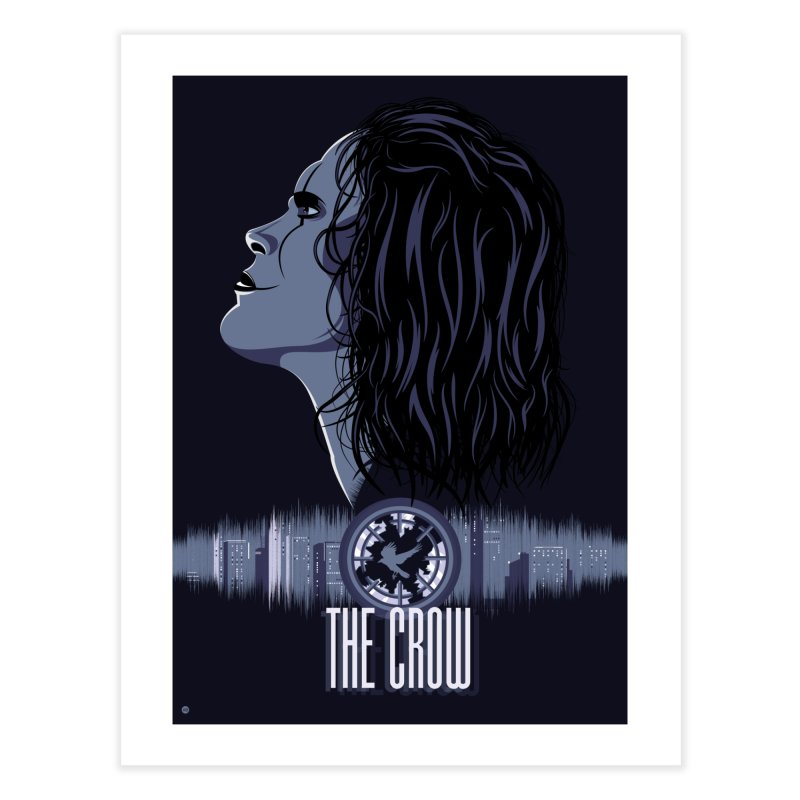 The Crow in Fine Art Print by Muchmoji Shop