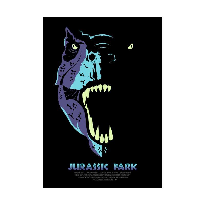 Jurassic Park (Art Print) Home Fine Art Print by Muchmoji Shop